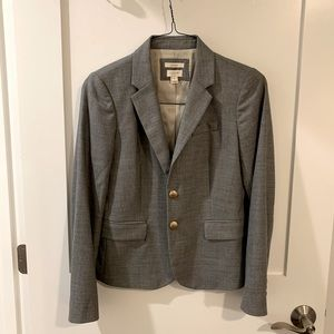 Jcrew gray schoolboy blazer